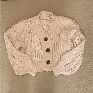Shein crop sweater